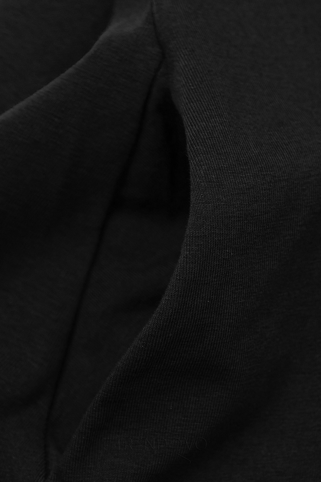 Čierne šaty WOMAN