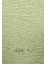 Zelená blúzka s volánom