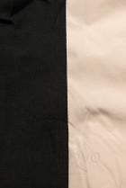 Béžová športová obojstranná bunda